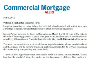 Commercial Mortgage Alert
